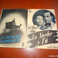 Cine: ANTIGUO CATALOGO GUIA DE PELICULAS FILMÓFONO TEMPORADA 1949-50. Lote 100314183