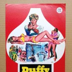 Cine: DUFFY EL UNICO 1968 (GUIA ORIGINAL ESTRENO EN ESPAÑA) JAMES COBURN - JAMES MASON - SUSANNAH YORK. Lote 100326659