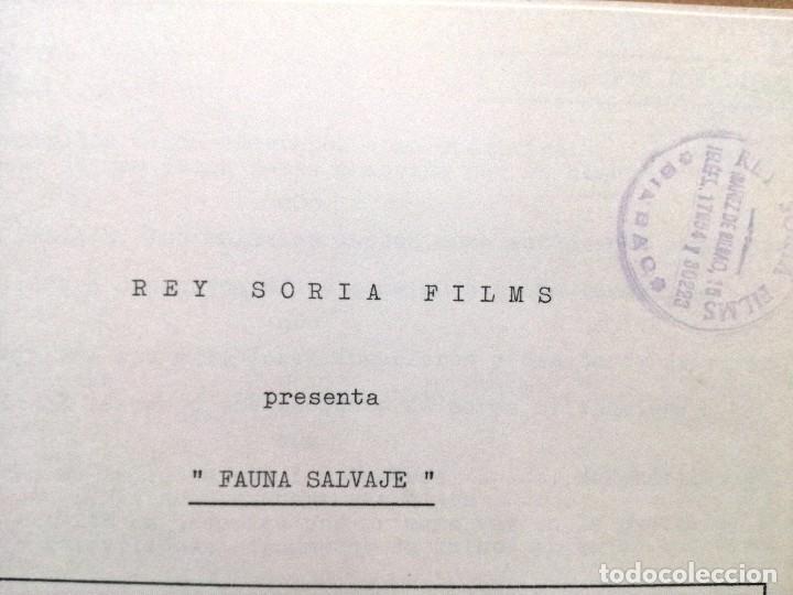 Cine: GUIA DE REY SORIA FILMS.FAUNA SALVAJE.4 HOJAS. - Foto 2 - 100364679