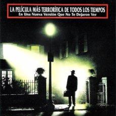 Cine: EL EXORCISTA, GUIA ORIGINAL SENCILLA, LINDA BLAIR. Lote 101687795