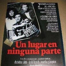 Cine: UN LUGAR EN NINGUNA PARTE (GUIA PUBLICITARIA) LEER DESCRIPCION. Lote 103192367