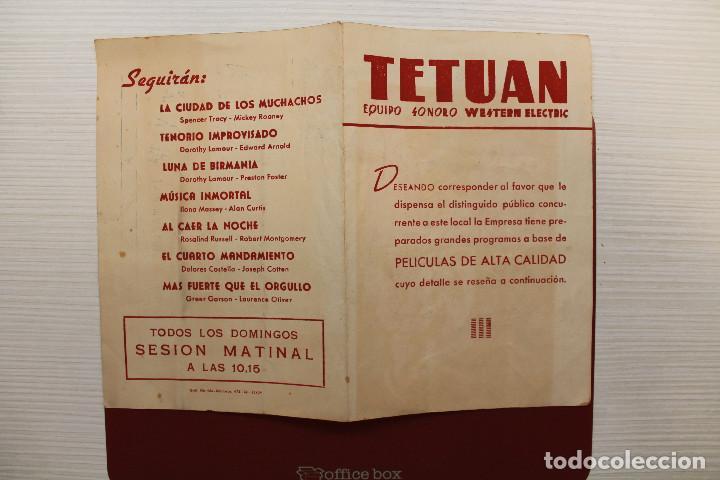 cine tetuán, programación de películas, 1944 - Kaufen ...