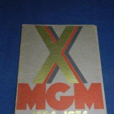 Cine: (M) GUIA CINEMATOGRAFICA METRO GOLDWYN MAYER 1924 - 1934 , CARPETA CON 12 PELICULAS CARTEL. Lote 104357527