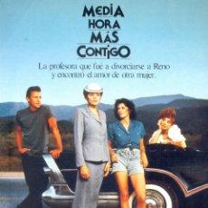 Cine: MEDIA HORA MAS CONTIGO. GUIA ORIGINAL ESTRENO.. Lote 104614031