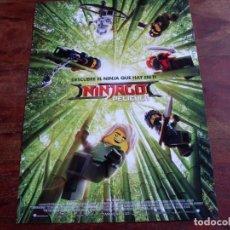 Cine: LA LEGO NINJAGO PELICULA - ANIMACION - GUIA ORIGINAL WARNER 2017. Lote 104790271