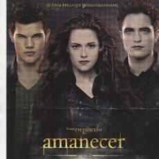 Cine: AMANECER PARTE 2. Lote 105581335