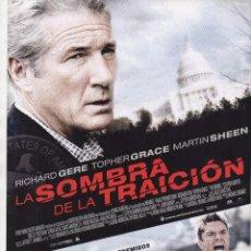 Cine: LA SOMBRA DE LA TRAICIÓN. Lote 105709615