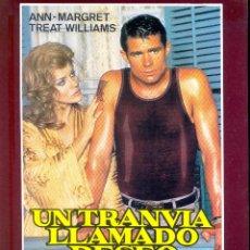 Cine: UN TRANVIA LLAMADO DESEO. GUIA ORIGINAL ESTRENO EN VIDEO.. Lote 106683535