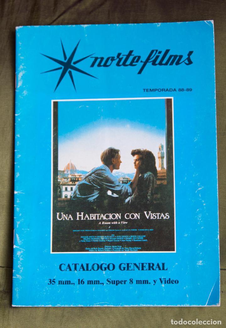 CATALOGO DE PELICULAS NORTE FILMS TEMPORADA 1988 - 1989 (Cine - Guías Publicitarias de Películas )