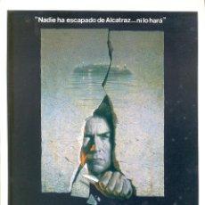 Cine: FUGA DE ALCATRAZ. GUIA ORIGINAL ESTRENO.. Lote 106941215
