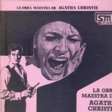 Cine: DIEZ NEGRITOS. GUIA ORIGINAL ESTRENO. (SOLO PORTADA). Lote 107075467