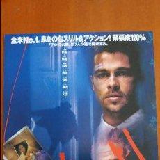 Cine: F-264- GUÍA ORIGINAL JAPONESA SEVEN - BRAD PITT- DAVID FINCHER -MUY RARA. IMPORTADA JAPÓN.. Lote 108082707
