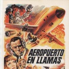 Cine: AEROPUERTO EN LLAMAS. Lote 109068751