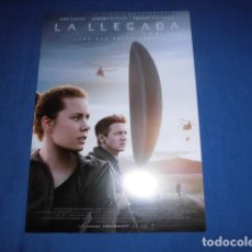 Cinema: LA LLEGADA. GUIA PUBLICITARIA SENCILLA. ORIGINAL.MAGNIFICO ESTADO.NUEVO.. Lote 196125710