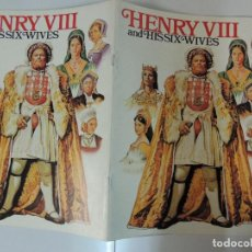 Cine: ENRIQUE VIII Y SUS SEIS MUJERES - GUIA LUJO ORIGINAL INGLESA HENRY VIII AND HIS SIX WIVES . Lote 109585759