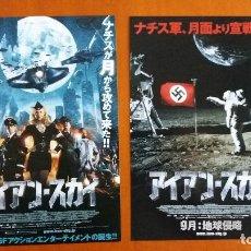 Cine: F-307- GUÍA ORIGINAL JAPONESA IRON SKY -PELÍCULA SOBRE NAZIS Y ESVÁSTICA SIN CENSURA. VER FOTOS.. Lote 109602183