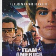 Cine: TEAM AMERICA. Lote 110081511