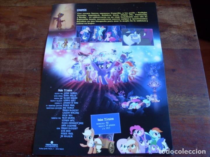 Cine: my little pony la pelicula - animacion - dir. jayson thiessen - guia original tri pictures año 2017 - Foto 2 - 110097587