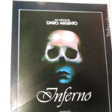 Cine: INFERNO - GUIA PUBLICITARIA - DARIO ARGENTO LEIGH MCCLOSKEY ELEONORA GIORGI DARIA NICOLODI. Lote 111407911