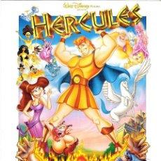 Cine: GUIA ORIGINAL SENCILLA HERCULES (WALT DISNEY PICTURES). Lote 112402211