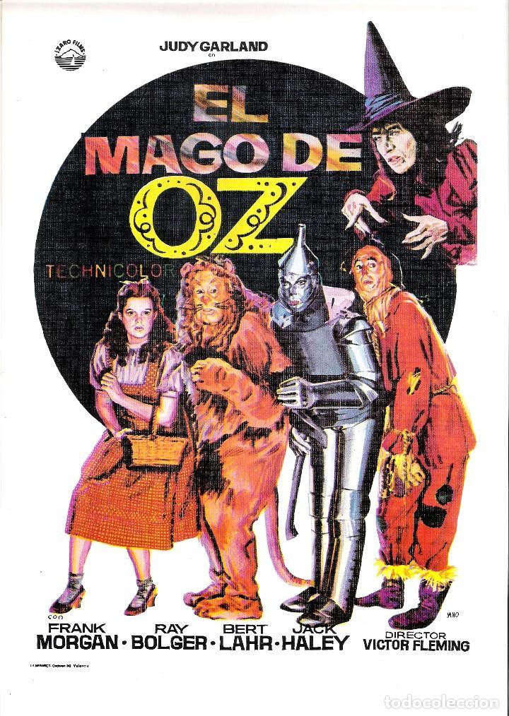 GUIA ORIGINAL DOBLE EL MAGO DE OZ ( FRANK MORGAN) (Cine - Guías Publicitarias de Películas )