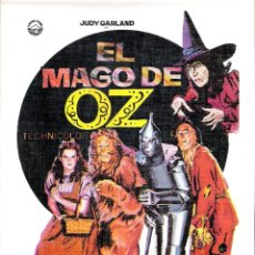 Cine: GUIA ORIGINAL DOBLE EL MAGO DE OZ ( FRANK MORGAN). Lote 112402715