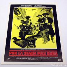 Cine: POR LA SENDA MAS DURA - LEE VAN CLEEF - CATHERINE SPAAK - JIM KELLY. Lote 112741219