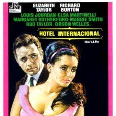 Cine: HOTEL INTERNACIONAL (GUÍA ORIGINAL SIMPLE DEL ESTRENO EN ESPAÑA) ELIZABETH TAYLOR RICHARD BURTON. Lote 113331959
