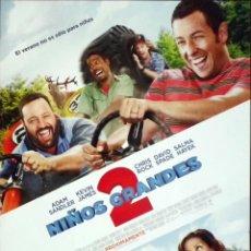 Cine: GUÍA ORIGINAL DE CINE: NIÑOS GRANDES 2 - SIMPLE IMPRESA A DOS CARAS.. Lote 114212911