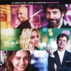 Cine: GUÍA ORIGINAL DE CINE: NUESTROS AMANTES - SIMPLE IMPRESA A DOS CARAS.. Lote 114214667