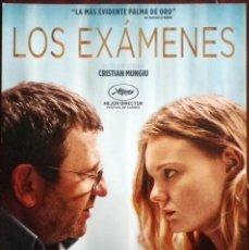 Cine: GUÍA ORIGINAL DE CINE: LOS EXÁMENES - GUÍA SIMPLE IMPRESA A DOS CARAS.. Lote 114403743