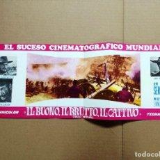 Cine: LISTA DE MATERIAL 1967.EL BUENO EL FEO Y EL MALO,LA ULTIMA FUGA,LOS TRAMPOSOS,AQUI MANDO YO... Lote 115073863