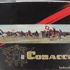 Cine: LOS COSACOS - GUIA LUJO ORIGINAL ITALIANA - JOHN DREW BARRYMORE PIERRE BRICE EDMUND PURDOM. Lote 115106083