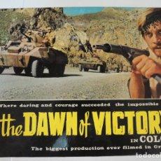 Cine: DAWN OF VICTORY - GUIA LUJO ORIGINAL INGLESA - DIMIS DADIRAS LAKIS KOMNINOS CINE BELICO GRIEGO. Lote 115108427