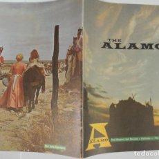 Cine: EL ALAMO - GUIA LUJO ORIGINAL INGLESA - JOHN WAYNE RICHARD WIDMARK LAURENCE HARVEY LINDA CRISTAL. Lote 115112655