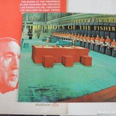 Cine: LAS SANDALIAS DEL PESCADOR - GUIA LUJO ORIGINAL INGLESA - THE SHOES OF THE FISHERMAN ANTHONY QUINN. Lote 115113935