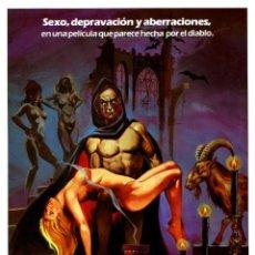 Cine: LOS RITOS SEXUALES DEL DIABLO (GUÍA ORIGINAL CON FOTOS ESTRENO ESPAÑA) FANTATERROR DE CULTO. Lote 244023505