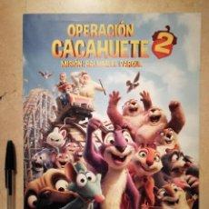 Cine: GUIA ORIGINAL -A4- OPERACION CACAHUETE 2 - ANIMACION. Lote 115639855