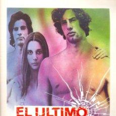 Cine: EL ULTIMO VIAJE. GUIA ORIGINAL ESTRENO.. Lote 115681891