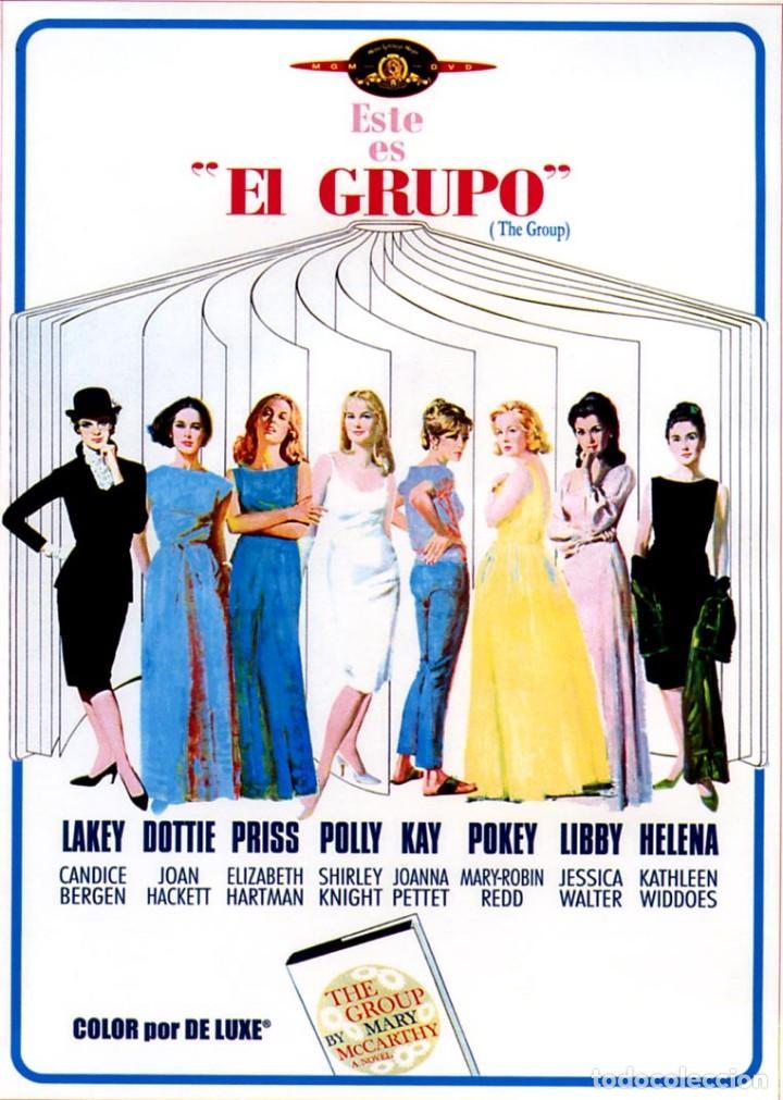 EL GRUPO (DVD PRECINTADO) CANDICE BERGER JOAN HACKETT JOANNA PETTET (Cine - Guías Publicitarias de Películas )