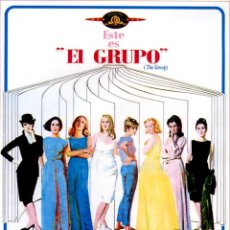 Cine: EL GRUPO (DVD PRECINTADO) CANDICE BERGER JOAN HACKETT JOANNA PETTET. Lote 116163567