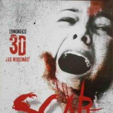 Cine: GUÍA ORIGINAL DE CINE: SCAR 3D - GUÍA SIMPLE IMPRESA A DOS CARAS.. Lote 116925911