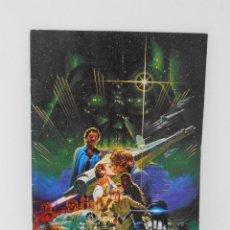 Cine: GUIA PUBLICITARIA JAPONESA, EL IMPERIO CONTRAATACA, ORIGINAL DE EPOCA 1980 LUCASFILM, STAR WARS. Lote 117187371