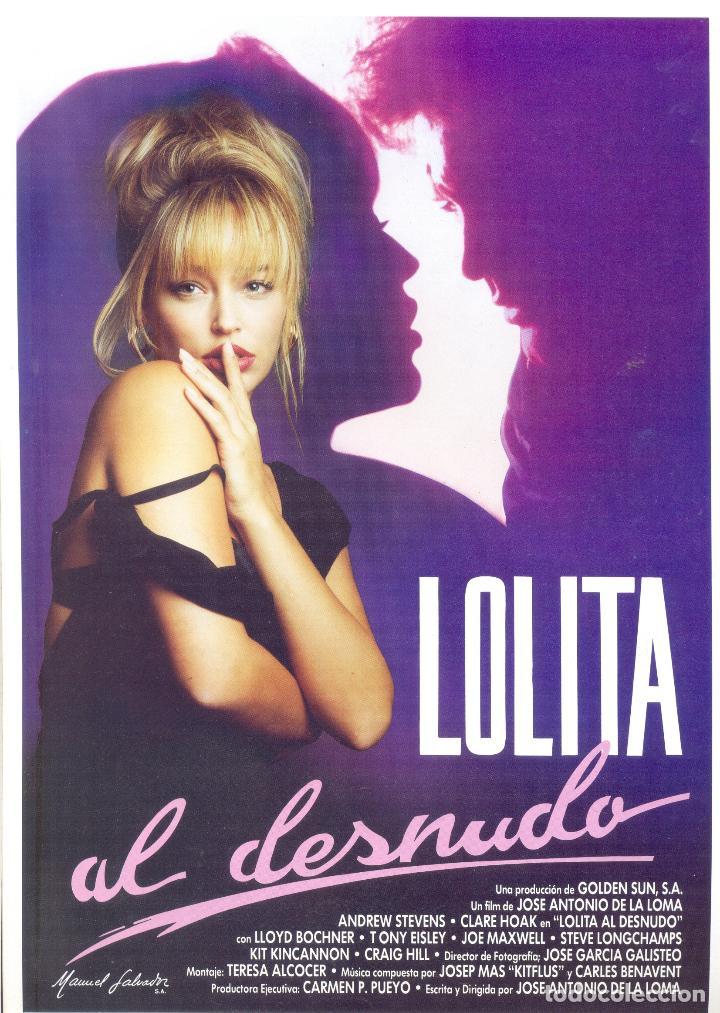 Lolita Al Desnudo Guia Original Estreno