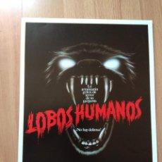 Cine: B1B-GUIA SIMPLE DE LA PELICULA-LOBOS HUMANOS. Lote 144637078
