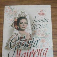 Cine: GLORIA MAIRENA -JUANITA MARINERA.. Lote 120506650