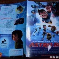 Cine: ASTRO BOY - DIR. DAVID BOWERS - ANIMACION - GUIA ORIGINAL . Lote 120747263