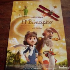 Cine: EL PRINCIPITO - DIR. MARK OSBORNE - ANIMACION - GUIA ORIGINAL WANDA VISION AÑO 2015. Lote 120747683