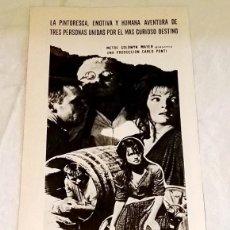 Cine: PUBLICIDAD DE LA PELÍCULA LA MUCHACHA Y EL GENERAL - EXTRAIDA DE REVISTA 1968 - 29,5X12CM. Lote 120939923