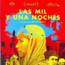 Cine: LAS MIL Y UNA NOCHES. GUIA ORIGINAL ESTRENO.. Lote 121603139